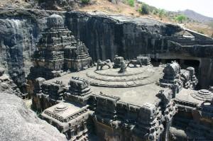 Ellora-Caves-in-Aurangabad-Maharashtra-India